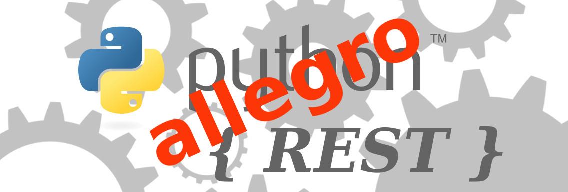 Allegro.pl REST API w Pythonie - wprowadzenie (OAuth)
